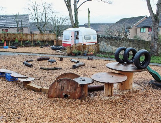 The Nurture Nursery Building and Outdoor Space
